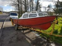 18ft boat with two engine and lot more