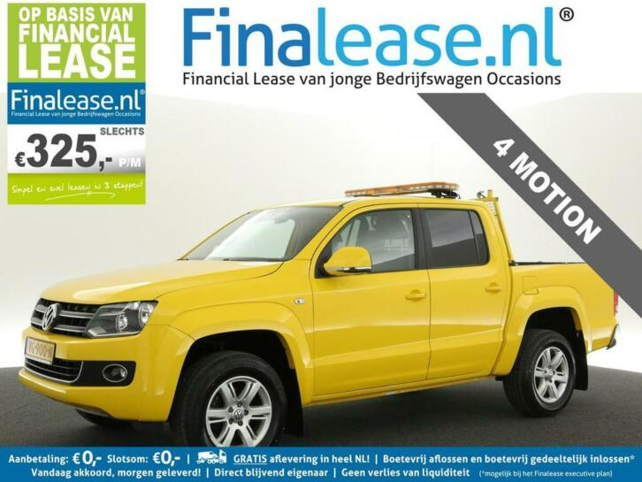VW Amarok 2.0 TDI 4Motion BM Plus Highline Airco €325pm