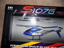 Remote Control Helicopter for ages 14+ Brand New Boxed