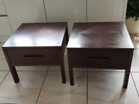 Pair of Bedside / Side tables.