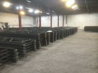 job lot 500 bays link pallet racking ( storage , shelving )