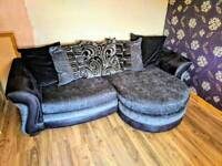 DFS corner sofa and chair