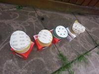 Sand paper discs