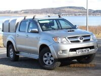 2008 TOYOTA HILUX HL3 3.0 D4D 1 FORMER KEEPER, FULL TOYOTA HISTORY, CANOPY