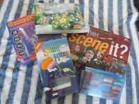 various games/toys