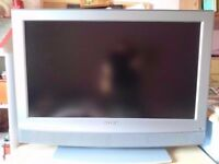 32 inch silver flat screen tv