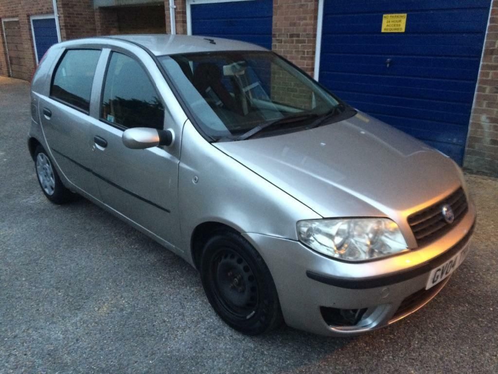 fiat punto 2004 1 2 16v 24k miles auto needs tlc in southampton hampshire gumtree. Black Bedroom Furniture Sets. Home Design Ideas