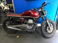 Moto guzzi v50 custom cafe racer