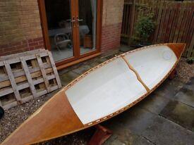 16' Hand-Built Canadian Canoe