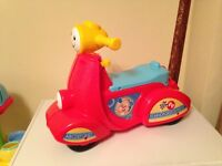 Fisher Price Scooter 12-36 months - Excellent condition!