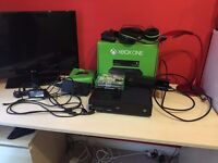 XBOX ONE + KINECT + WIRELESS CONTROLLER + TURTLE BEACH HEADSET + GAMES