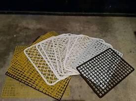 Plastic place mats