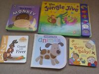 Baby Book Bundle - Touch and Feel - counting hardboard