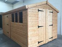We custom make sheds and summerhouse, any size made