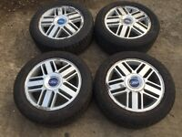 """For sale - Ford Mondeo / focus / transit connect 16"""" alloy wheels - excellent tyres"""