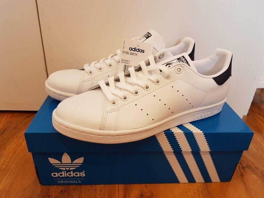 sale retailer e8d87 3d8c6 Adidas Stan Smith White/Navy 7.5UK   in Lambeth, London   Gumtree