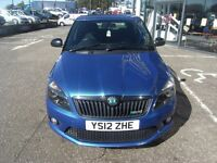2012 12 SKODA FABIA 1.4 VRS DSG 5D AUTO 180 BHP**** GUARANTEED FINANCE **** PART EX WELCOME ****