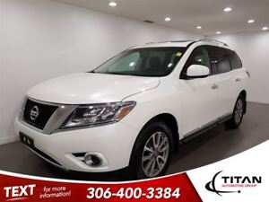 2016 Nissan Pathfinder SL|4x4|Nav|Cam|Leather|7 Pass|Sunroof