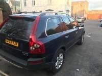 VOLVO XC90 BLACK 2.4 Diesel 12 MONTHS MOT Service CAMBELT Change 4X4 £2350