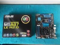 Cpu fx 8350 & Asus motherboard