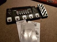 Digitech RP500 Multi-fx guitar pedal and USB recording interface