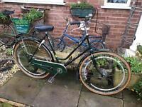 Vintage ladies Dutch Bike