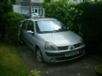 Renault clio (won't start)