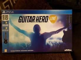 Guitar live hero ps4