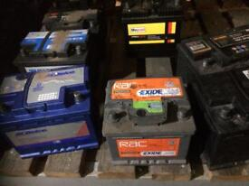 CARS AND VANS BATTERIES FOR SALE