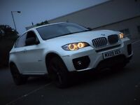 BMW X6 3.0 35D XDRIVE STEP DIESEL AUTOMATIC WHITE EXCELLENT DRIVE TOP SPECS NOT MODIFIED EVOQUE X5