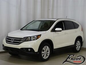 2014 Honda CR-V EX-L, Cuir, Toit Ouvrant, Mags