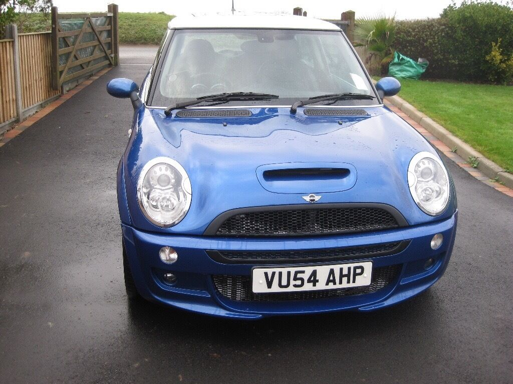 mini cooper s john cooper works 2004 massive spec including jcw 18 inch 3 piece alloys in. Black Bedroom Furniture Sets. Home Design Ideas