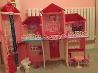 Large barbie house