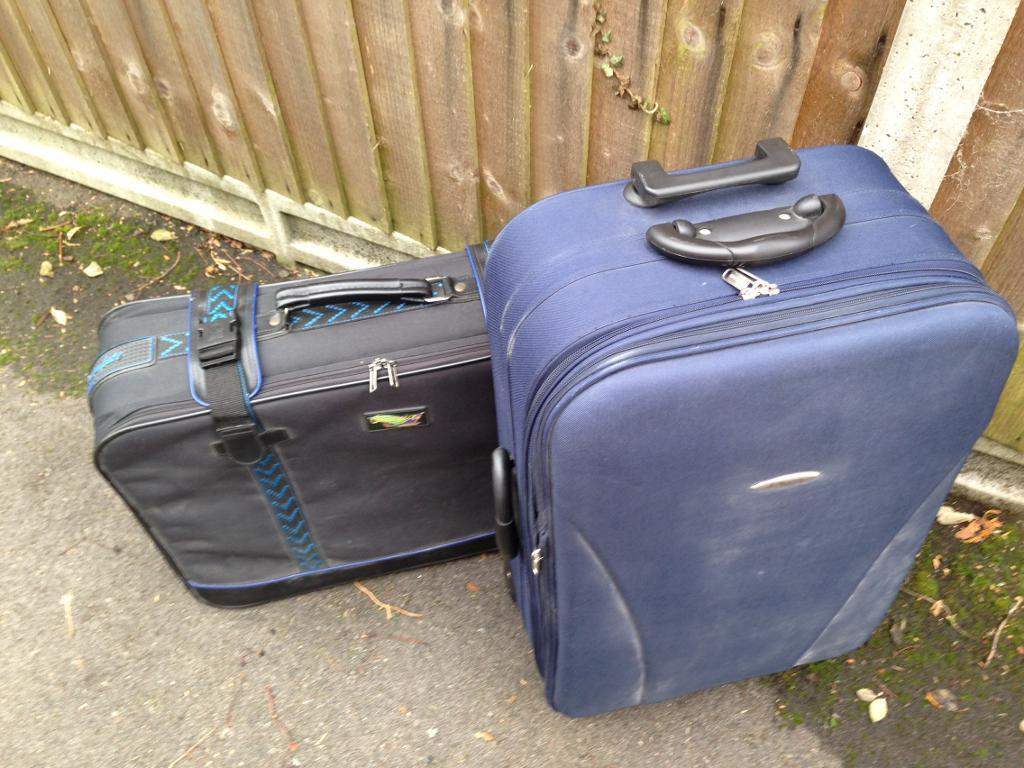 Free suitcases