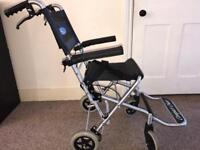 Aluminium lightweight compact wheelchair Can deliver