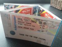 2 Ed Sheeran Tickets, Belfast Boucher Playing Fields, 9 May 2018