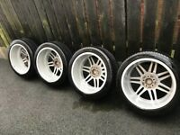 "Genuine Audi 19"" Lemans Alloys with Michelin PS3 tyres"
