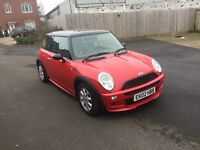 FIRST TO VIEW WILL Stunning Mini Cooper 11 months mot ,just had waterpump, PX WELCOME