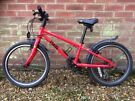 FROG bike • hybrid • red • '52' - suit 5-6 year old • 8 gears • bought Dec 2015