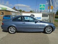 BMW 3 SERIES 2.0 320Cd SE 2dr Auto (blue) 2004