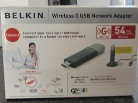 Belkin Wireless G USB Network Adaptor