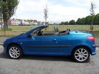 Lovely peugeot 206 cc coupe for sale ,brilliant runner and looks good , nine months mot