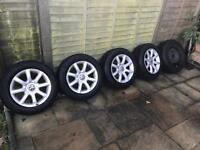 VW Alloy wheels 5x112 R15