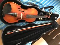Selling two barely used Violins 3/4 size