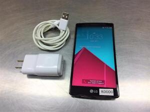 Téléphone cellulaire LG G4 32gb   Koodoo / Telus **Parfaite Condition**  #F021469