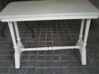 Painted Edwardian side table