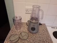 Electric whisk small George Foreman grill and Kenwood smoothie maker