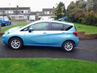 Blue Nissan Note 1.5dci Accenta 5dr excellent condition 2 previous owners