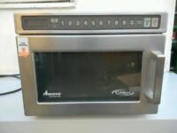 Commercial Amana CMax heavy duty Microwave.