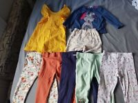 12-18m baby girls clothes (8 items - some brand new)